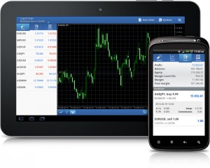 Terminal Mvel de Negociao MetaTrader 5